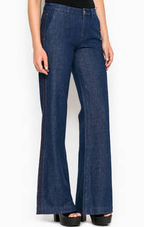 Расклешенные от колена широкие джинсы Miss Sixty