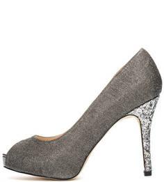 Текстильные туфли с отделкой пайетками Menbur