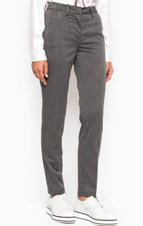 Зауженные брюки из полиэстера и вискозы MET