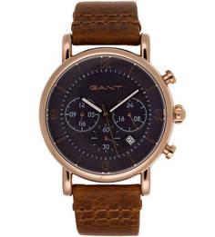 Часы круглой формы с хронографом Gant