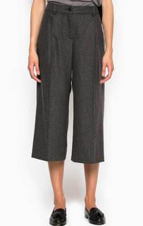 Серые брюки кюлоты Pennyblack