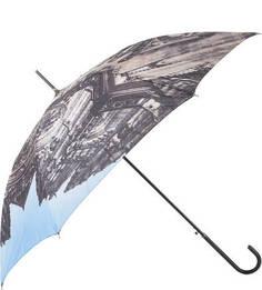 Зонт-трость с куполом из полиэстера Flioraj