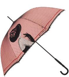 Зонт-трость с двойным куполом Flioraj