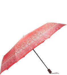 Красный зонт с прорезиненной ручкой Doppler