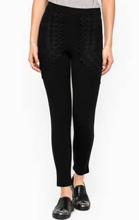 Черные брюки из вискозы Relish