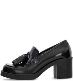 Кожаные туфли на каблуке Tosca BLU