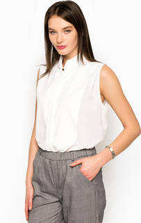 Белая блуза на пуговицах Silvian Heach