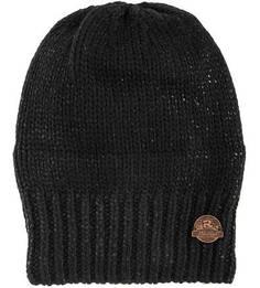 Черная шапка из акрила и шерсти R.Mountain