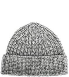 Серая шапка из шерсти Drykorn