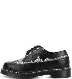 Кожаные полуботинки на шнуровке Dr. Martens