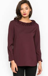 Блуза с удлиненной спинкой Pois