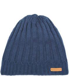 Синяя шапка из мериносовой шерсти и акрила Noryalli
