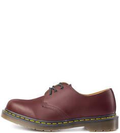 Ботинки из натуральной кожи на шнуровке Dr. Martens