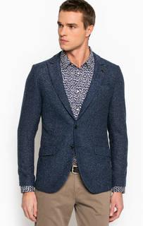 Синий пиджак на пуговицах Scotch&Soda