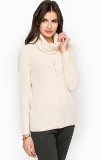Однотонный свитер с высоким воротником Stefanel