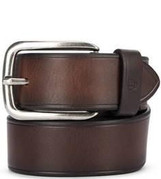 Широкий кожаный ремень для повседневной носки Miguel Bellido