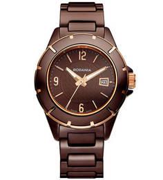 Часы с керамическими вставками в браслете Rodania