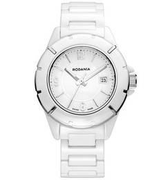 Часы с керамическим браслетом Rodania