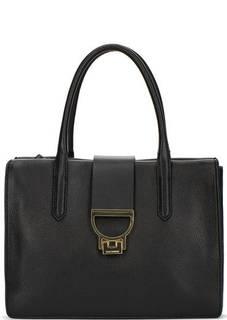 Кожаная сумка с двумя отделами Coccinelle