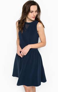 Короткое однотонное платье Hilfiger Denim