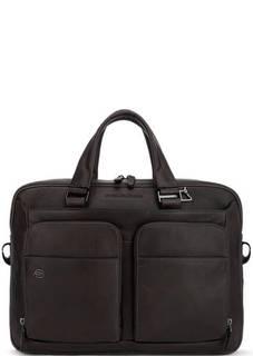 Кожаная сумка с короткими ручками Piquadro