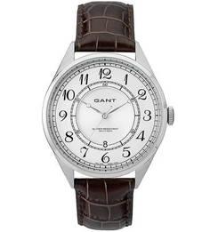 Часы с кожаным ремешком с выделкой под рептилию Gant