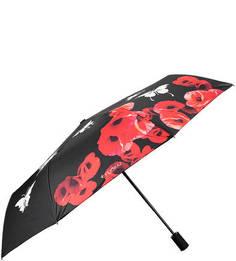 Складной зонт с принтом, меняющим цвет Flioraj