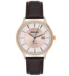 Часы с кожаным браслетом Rodania