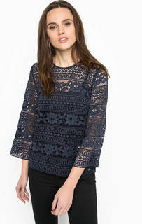 Ажурная блуза свободного кроя Trussardi Jeans