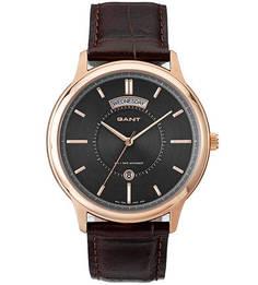 Часы с кожаным ремешком Gant