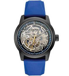Часы с синим силиконовым браслетом Kenneth Cole