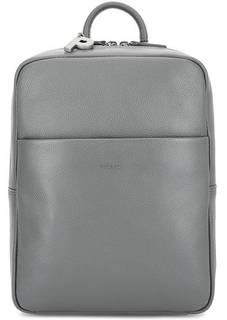 Серый кожаный рюкзак с узкими лямками Picard