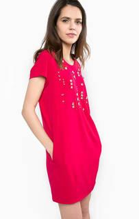 Короткое платье с декоративной отделкой Liu Jo