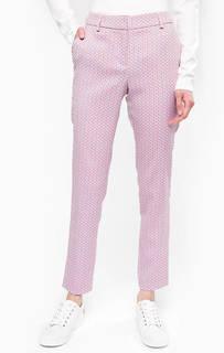 Зауженные брюки из полиэстера и полиамида Stefanel