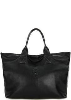 Вместительная кожаная сумка Io Pelle