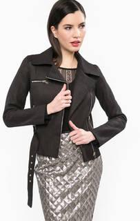 Легкая куртка на молнии со съемным поясом Guess