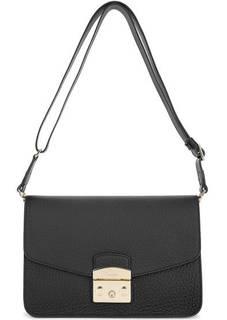Кожаная сумка с широким плечевым ремнем Furla