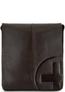 Кожаная сумка с тиснением Strellson