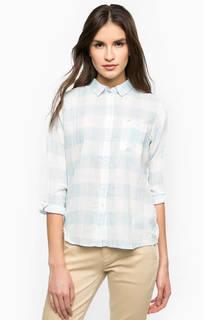 Рубашка из хлопка прямого кроя Lee