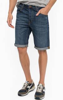 Джинсовые шорты с легкими заломами Lee