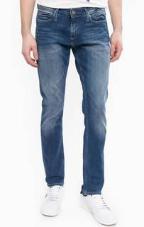 Синие джинсы с заломами Hilfiger Denim