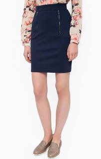 Трикотажная короткая юбка Lerros