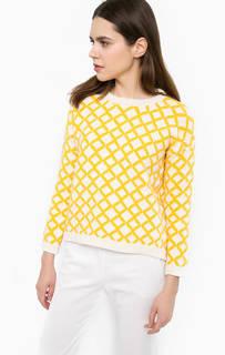 Хлопковый свитер с круглым вырезом Stefanel