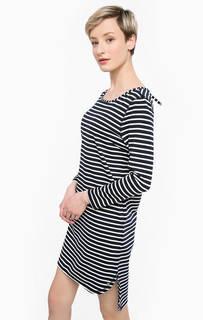Платье свободного кроя в полоску Tom Tailor Denim