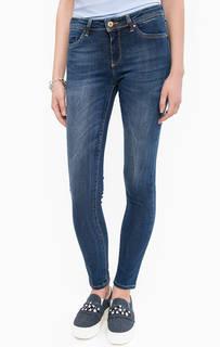 Зауженные джинсы с заломами Kocca