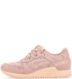 Розовые кроссовки на шнуровке Asics Tiger