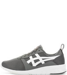 Текстильные кроссовки серого цвета Asics Tiger
