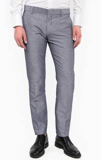 Хлопковые брюки на пуговицах Antony Morato