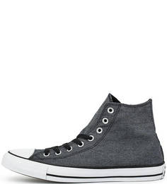 Высокие текстильные кеды Converse