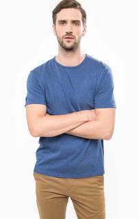 Синяя футболка с круглым вырезом Gant